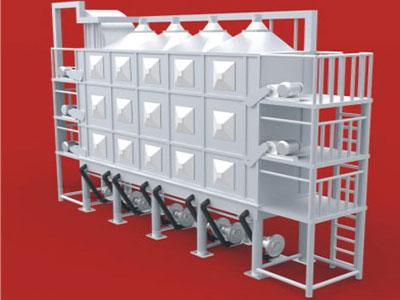 Multilayer Dryer for Waste Plastics